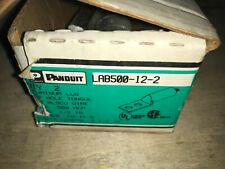 Lot of 3-PANDUIT TERMINAL, #LAB500-12-2, 500-MCM, With Warranty.