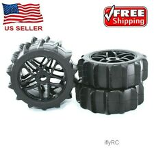 IFLYRC 1/8 Paddles Buggy Tires Hex 17mm Wheels For Snow Sand Master Off Road Car
