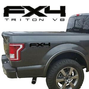 FX4 TRITON V8 VINYL DECALS FITS: FORD TRUCK 2008-2017 F150 F250 F350 SUPER DUTY