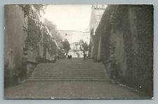 Calle de la Seo—Madrid? RPPC Antique SPAIN Tarjeta Postal Photo Foto~1920s