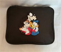 Mickey Donald & Goofy Embroidery Pin Trading Book Bag For Disney Pin Collections
