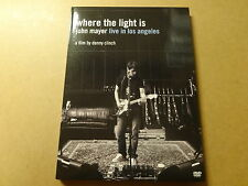 MUSIC DVD / JOHN MAYER: WHERE THE LIGHT IS - LIVE IN LOS ANGELES