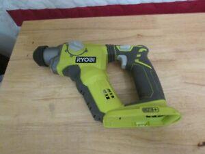 "Ryobi P222 18-Volt ONE+ Lith-Ion 1/2"" SDS-Plus Rotary Hammer Drill 550"