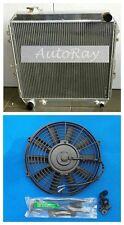 Aluminum Radiator for Toyota 4 Runner Hilux VZN130 3L 3VZ-FE V6 Petrol + Fan