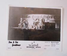 Vintage original 1964-1965 8x10 promo photo Don & The Goodtimes - Northwest Rock