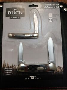 BUCK KNIFE  389 Canoe & 379 SOLO Special Edition Collectors set
