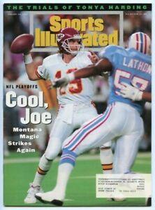 SI: Sports Illustrated January 24, 1994 Joe Montana, Football, KC Chiefs, VG