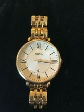 Fossil Jacqueline Stainless steel Gold-Tone  Wrist Watch for Women
