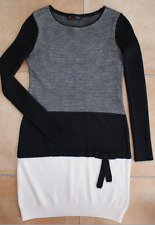 * SYM 👗 robe noir gris blanc 38 40 TBE 🌷voir 7 photos