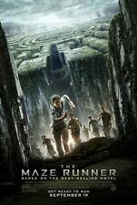 "THE MAZE RUNNER -13.5""x20"" Original Promo Movie Poster 2014 MINT Dylan O'brien"