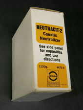 New/Sealed Neutracit-2 Caustic Neutralizer 1200g / 1.2 Kg, 4470-05, J.T.Baker