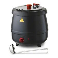 Tomlinson Industries Glenray 10.5 Quart 800 Watt Soup Kettle Warmer Black
