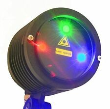 RED and Green and Blue -3 Color Laser Landscape Projector Light w/Remote Control