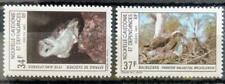 151. NEW CALEDONIA 1983 SET/2 STAMP BIRDS OF PREY, OWLS. MNH