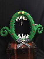 disney parks TIM BURTON's The nightmare before christmas Wreath Green monster NT