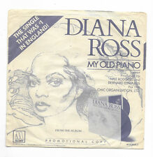 DIANA ROSS-MOTOWN 1531F PROMO SOUL 45RPM IN PROMO P/S MY OLD PIANO M- PS VG++