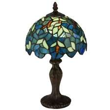 Meyda Lighting 14'H Nightfall Wisteria Mini Lamp - 124812