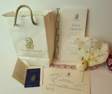 Ritz Carlton Dallas Texas Bag Plastic Room Key Happy Anniversary Card LOT Spa