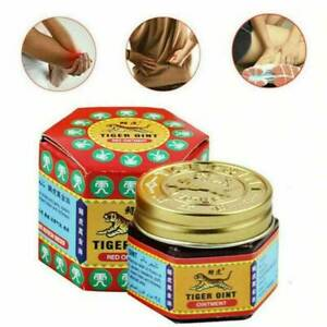 19G RED TIGER BALM MUSCLE RELAXANT MIGRAINE HEADACHE RELIEF PAIN RELIEF