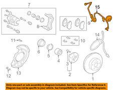 TOYOTA OEM 01-03 Highlander Anti-lock Brakes-Speed Sensor 8954248020
