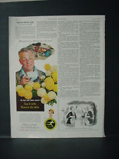 1955 FTD Florists Telegraph Delivery Say it by Wire Vintage Print Ad 10852