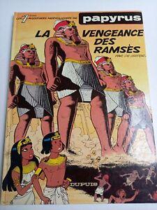 De Gieter : Papyrus 7 : La vengeance de Ramsès  Dupuis