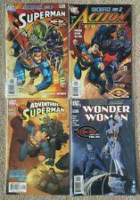 Superman Action Adventure #219 829 642 643 Complete Sacrifice Story FIRST PRINTS