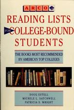 Reading Lists for College-Bound Students : The Books Most Recommended -ExLibrary