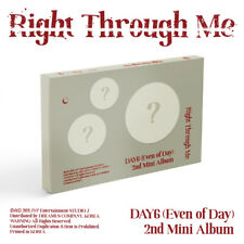 DAY6 EVEN OF DAY - Right Through Me CD+PO Benefit+Poster+Free Gift/EXPRESS SHIP