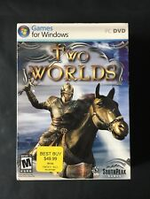 Two Worlds (PC, 2007) COMPLETE PREOWNED PC DVD STRATEGY GAME FOR WINDOWS W/ KEY