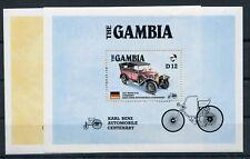 Gambia Block 24 + 25 postfrisch / Autos ..................................1/3760
