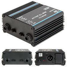 Active DI Box - 6.35mm ¼ Input XLR Output- Direct Interface/Injection Audio Link