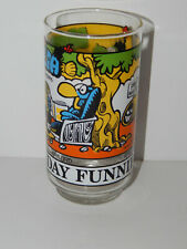 Rare Broom Hilda The Sunday Funnies Glass 1976 excellent condition