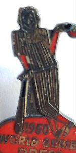 Original 1950 Philadelphia Phillies World Series Press Pin with clasp
