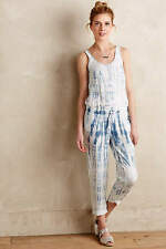 New $128 Anthropologie Makai Tie-Dye Jumpsuit Sz S 2 4 by Cloth & Stone LYOCELL