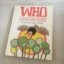 WHO KILLED COCK ROBIN? RODNEY MCRAE. HARDCOVER. 0868243582. PICTURE KIDS BOOK