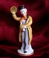 Porzellan Figur Straßenmusikant 18 cm Bettlerkapelle Hand-Becken Gräfenthal