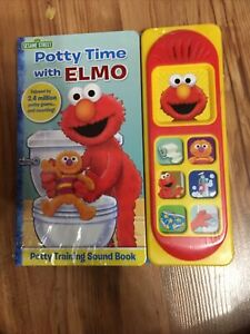 Sesame Street Potty Time With Elmo Potty Training Sound Book Perfect For Potty
