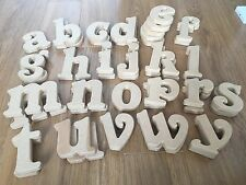 MDF fresstanding lower case letters Belshaw font 15cm -  bulk set 45 pieces