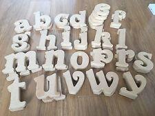 MDF freestanding Letters Lower case Belshaw font 15cm -  bulk set 45 pieces