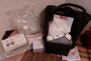 New Ameda Finesse Double Electric Breast Pump System with Dottie Tote New in bag