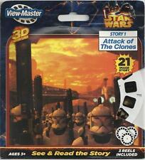NEW ~ STAR WARS ~ 3D VIEW-MASTER REELS ~ 3pk