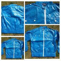Royal Blue long sleeve military style jacket MECCA Blue long sleeve jacket L-3X