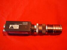 SONY XC-73 CCD MACHINE VISION CAMERA 94D 50mm TAMRON LENS, 20mm X2TV EXTENDER