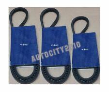 FOR NISSAN ELGRAND 3.2TD E50 3PC AC/ALTERNATOR/POWER STEERING DRIVE BELT 95-01