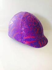 Purple Riding Helmet Covers