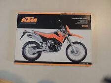 Fahrerhandbuch Bedieningshandleiding KTM 400 600 LC4-E / Supermoto 2000