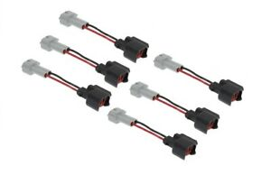 Fuel Injector PnP Connectors EV6 USCAR TO TOYOTA DENSO WIRED X6