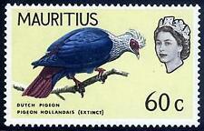Mauritius Birds Stamps