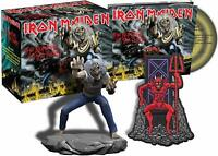 Iron Maiden The Number Of Beast Édition Limitée CD Coffret W / Eddie Figurine